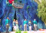 Grand Opening of The Little Mermaid Ride at Disney California Adventure Park