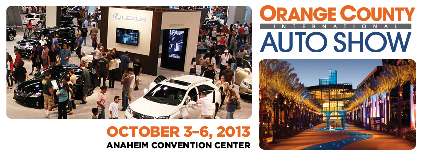 Orange County International Auto Show This Weekend