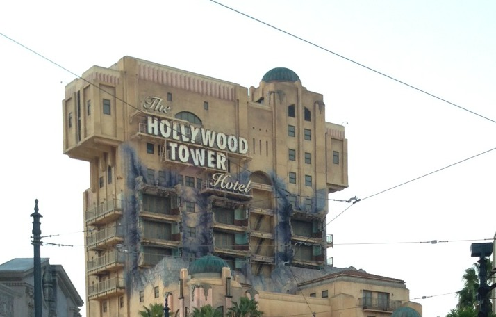 The Tower of Terror Brings Frights During Halloween Time at Disneyland